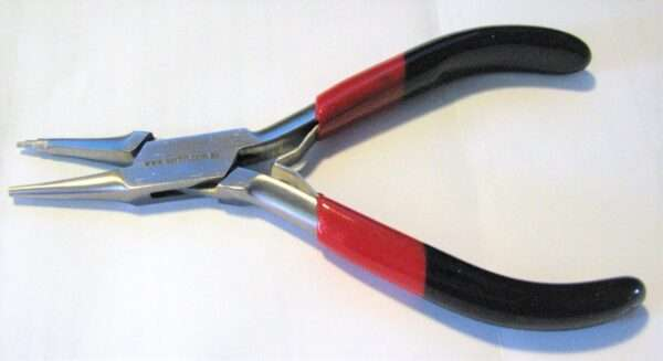 micro 3 stage wire looper showing coloured handles