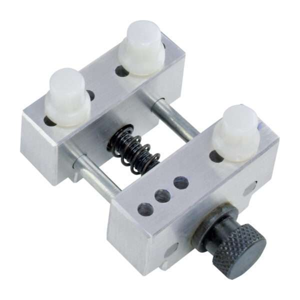 small vise with removeable pins