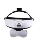 Magnifying Headset  – 5 Lenses and led light -helmet style head straps