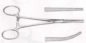 CRILLE CLAMP CURVED