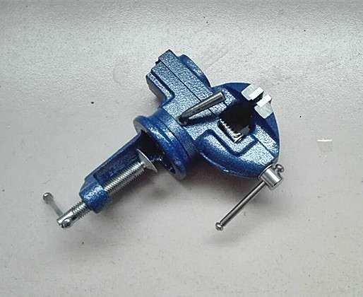 60mm Vice Clamp with Anvil 4