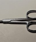 Parchment-scissor-curved-stainless-steel