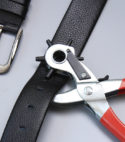 Professional hole punch leather working