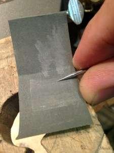 Making a Burnishing Tool 3