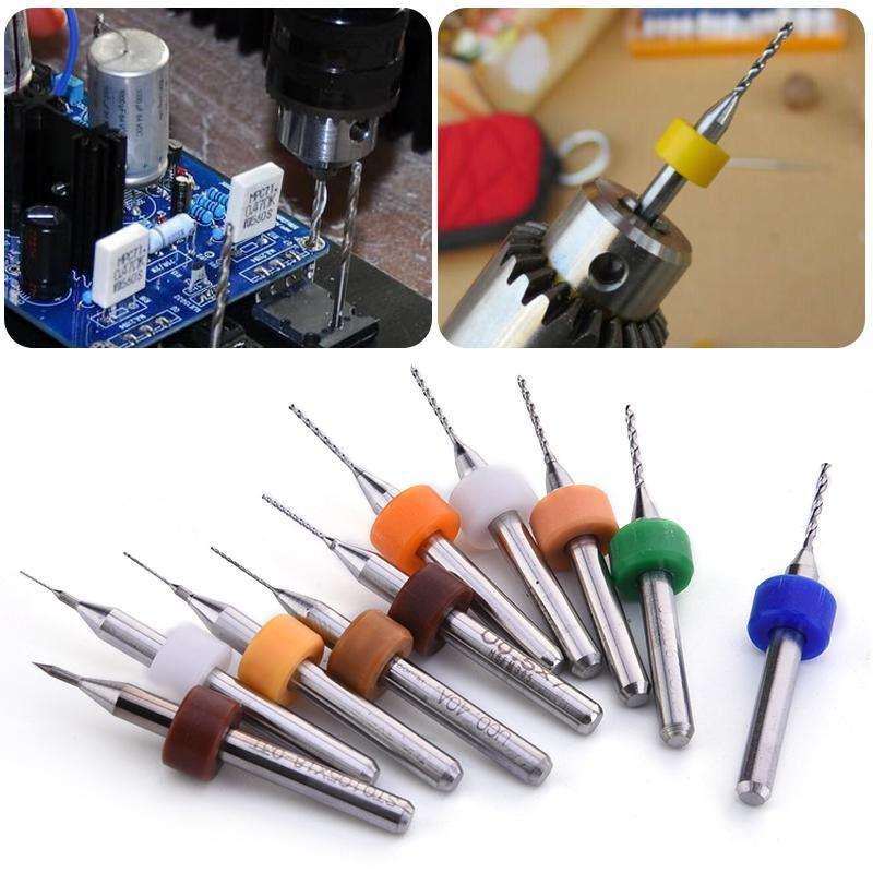 Carbide Micro Drill Bit Tool Set