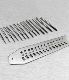 Screw Plate 14 Tap die 0.7mm-2mm
